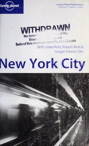 Cover of: New York City