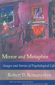 Cover of: Mirror and Metaphor