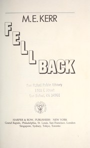 Cover of: Fell back