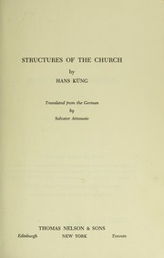 Structures of the church.