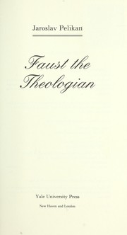 Cover of: Faust the theologian