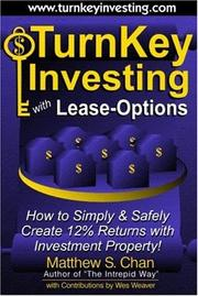 Cover of: TurnKey Investing with Lease-Options