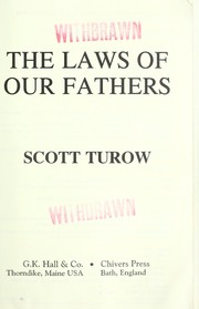 Cover of: The Laws of Our Fathers