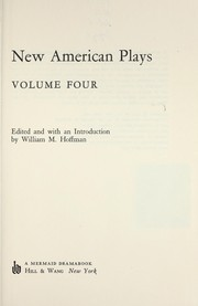 Cover of: New American Plays (New American Plays)