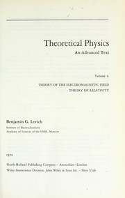 Cover of: Theoretical physics