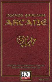 Cover of: Pocket Grimoire Arcane