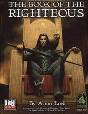 Cover of: The book of the righteous