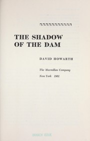 Cover of: The shadow of the dam