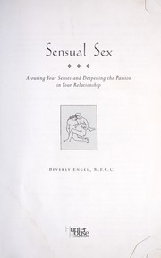 Cover of: Sensual Sex |