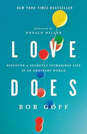 Cover of: Love does | Bob Goff