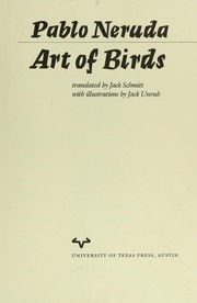 Cover of: Art of birds