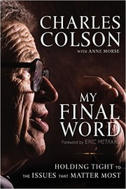 Cover of: My Final Word