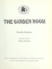 Cover of: The garden room | Priscilla Boniface