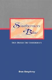 Cover of: Southerners in blue | Don Umphrey
