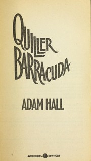 Cover of: Quiller barracuda