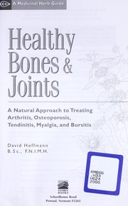 Cover of: Healthy bones & joints | Hoffmann, David