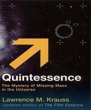 Cover of: Quintessence
