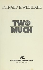 Cover of: Two Much