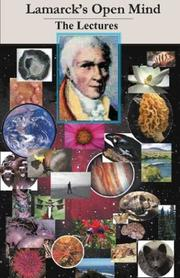 Cover of: Lamarck's open mind: the lectures.