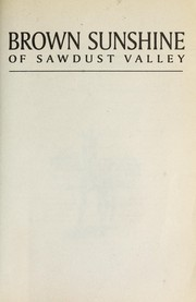 Cover of: Brown Sunshine of Sawdust Valley