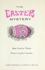 Cover of: The Easter mystery