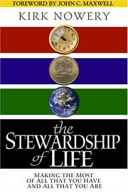 Cover of: The Stewardship of Life