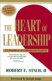 Cover of: The Heart of Leadership