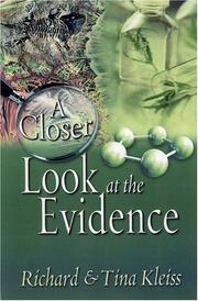 Cover of: A Closer Look at the Evidence