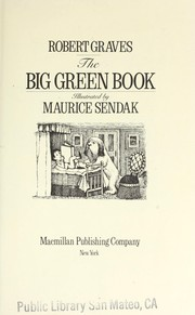 Cover of: The big green book