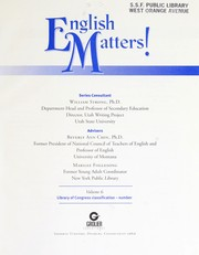 Cover of: English matters! | William Strong
