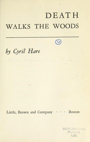 Cover of: Death Walks the Woods