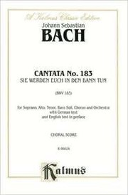 Cover of: Cantata No. 183 | Keith Snell
