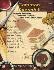 Cover of: Common Ground II