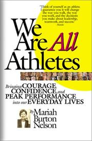 Cover of: We Are All Athletes