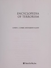 Cover of: Encyclopedia of terrorism