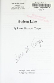 Cover of: Hudson Lake | Laura Mazzuca Toops