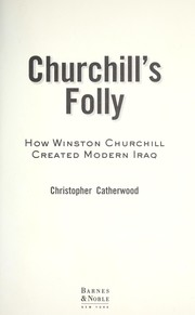 Cover of: Churchill's folly