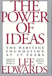 Cover of: The power of ideas | Lee Edwards