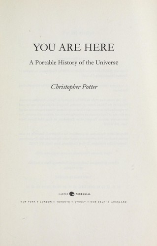You are here by Christopher Potter