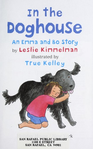 In the doghouse : an Emma and Bo story by