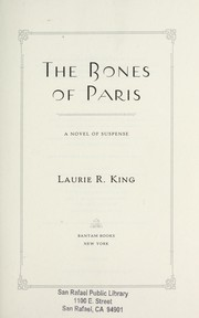 Cover of: The bones of Paris