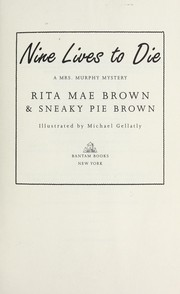 Cover of: Nine lives to die