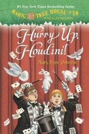 Cover of: Hurry up, Houdini (Magic Tree House #50) |