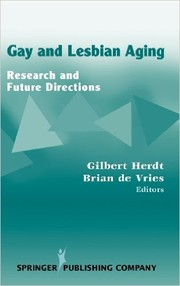 Cover of: Gay and lesbian aging |