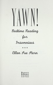 Cover of: Yawn! : bedtime reading for insomniacs by