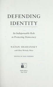 Cover of: Defending identity