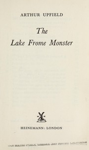 Cover of: The Lake Frome Monster