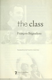 Cover of: The class