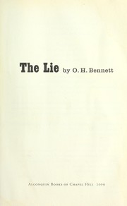 Cover of: The lie