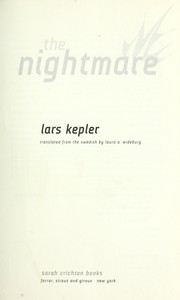 Cover of: The nightmare